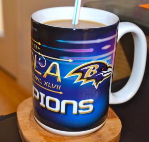 Ravens mug! Def saving this one :)