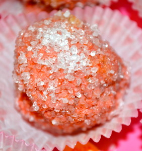 Minnie's Muffin Truffles! Pretty!