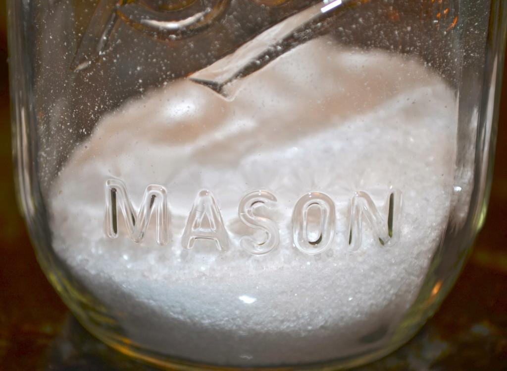 I love Mason Jars. So versatile!