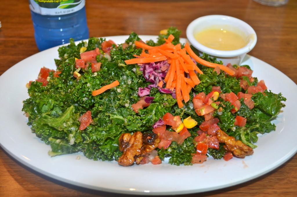 Best kale salad, remaking at home!
