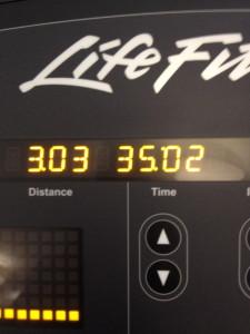 3 miles complete!