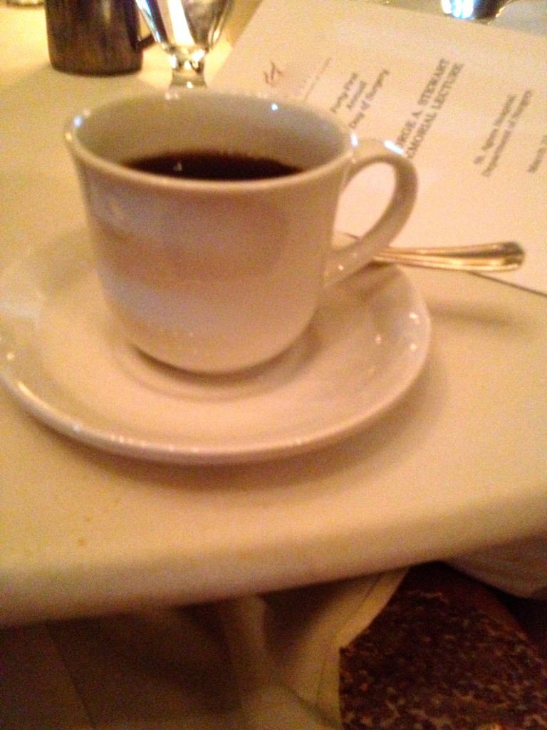 Yum Coffee! I never turn down a good coffee